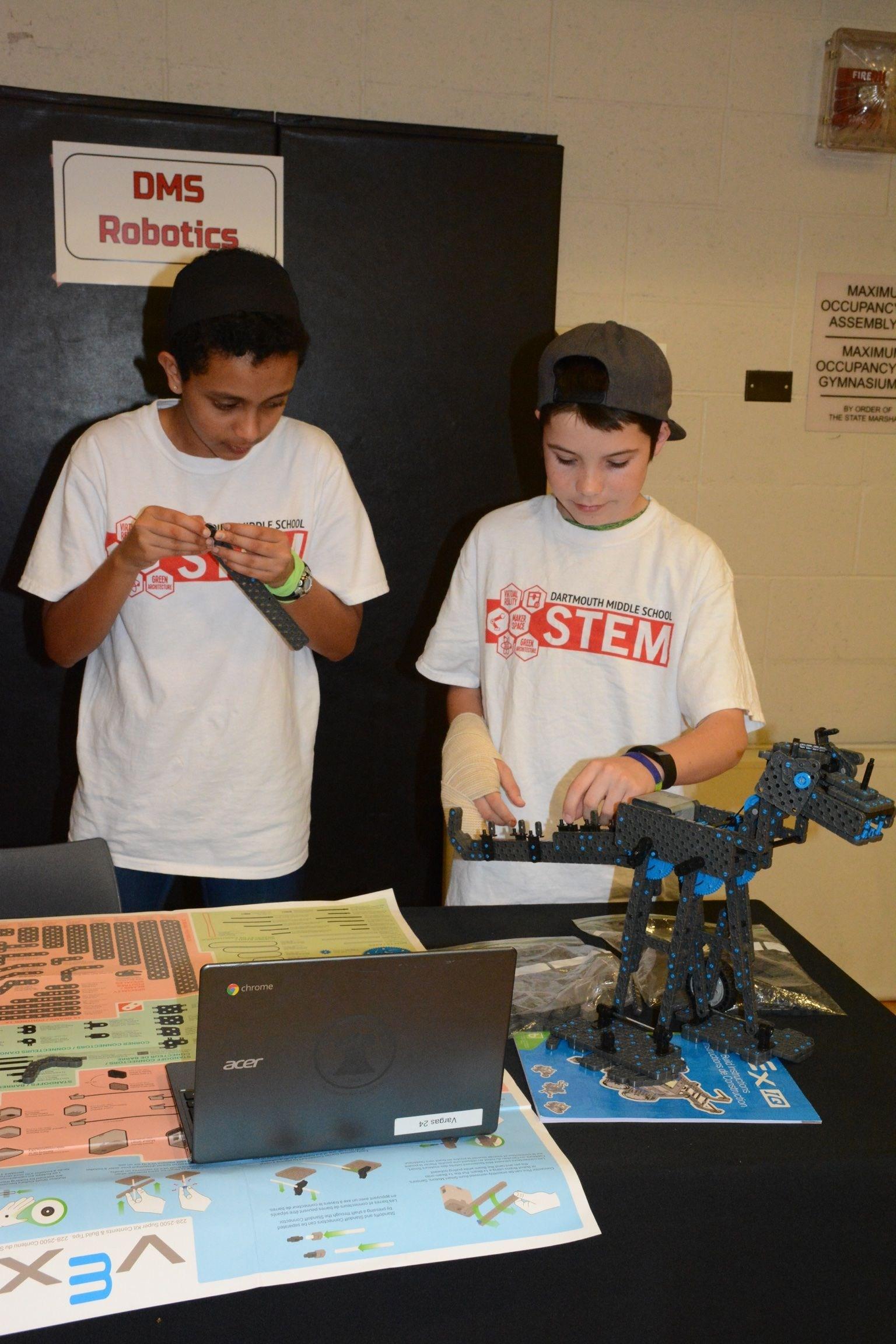 building robots