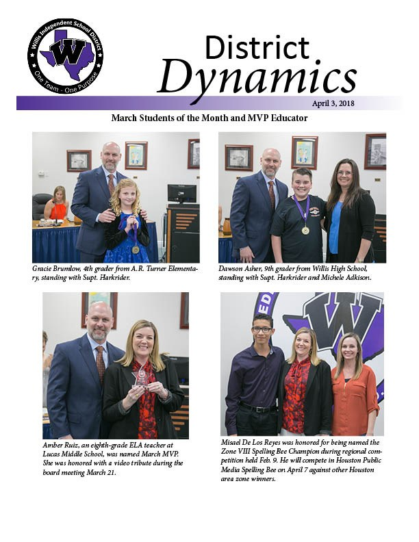 April 3 2018 District Dynamics Cover