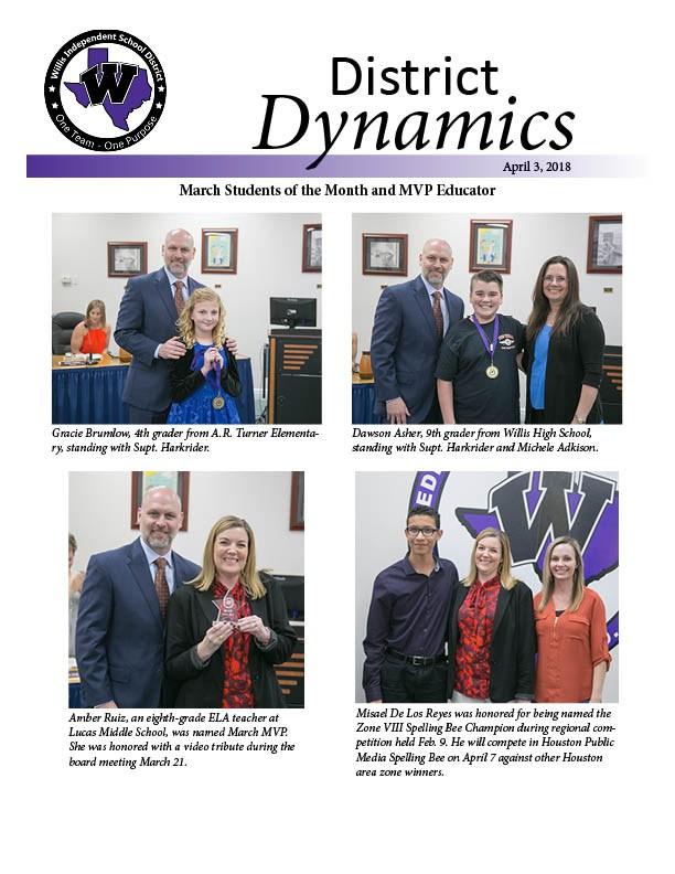 April 3 2018 District Dynamics Cover