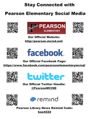 Stay Connected with Pearson Elementary Social Media.PNG