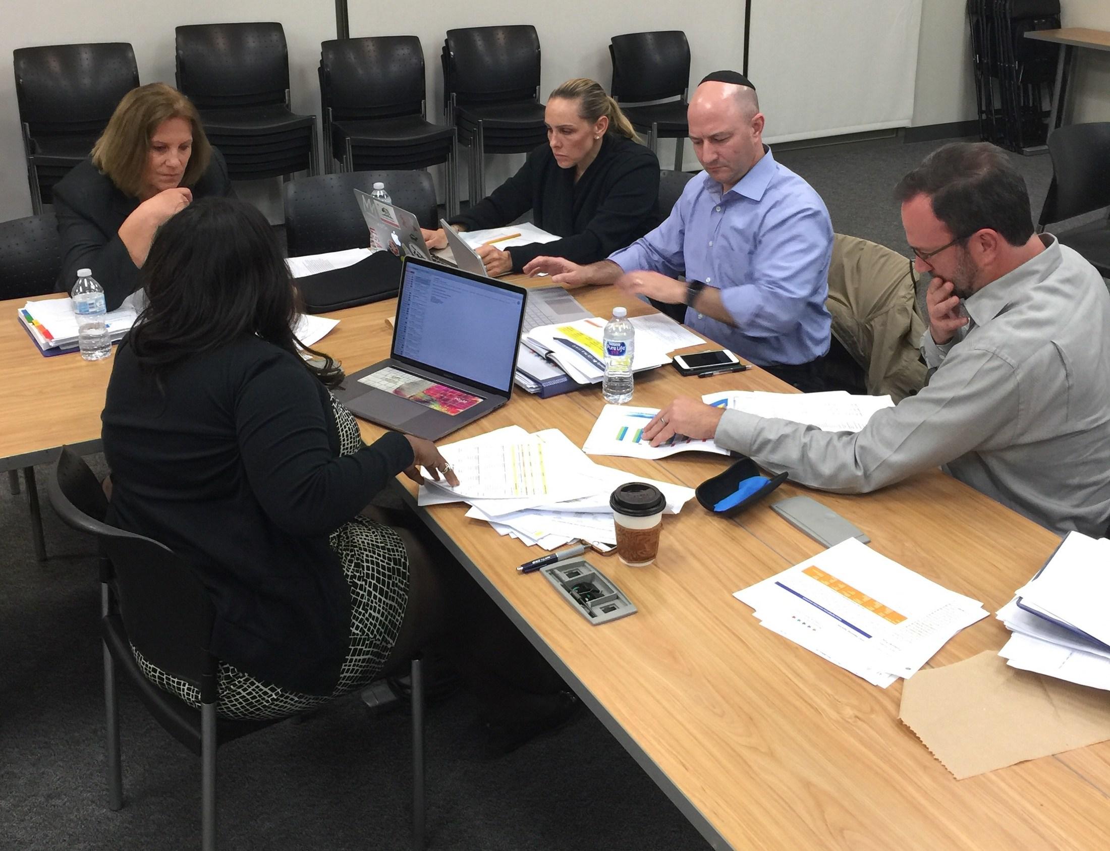 FFST finance group at work