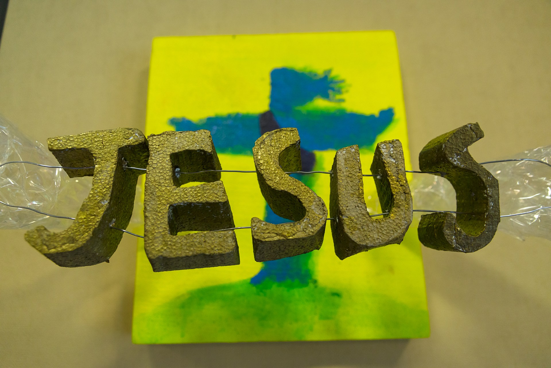 three dimensional 'Jesus' name