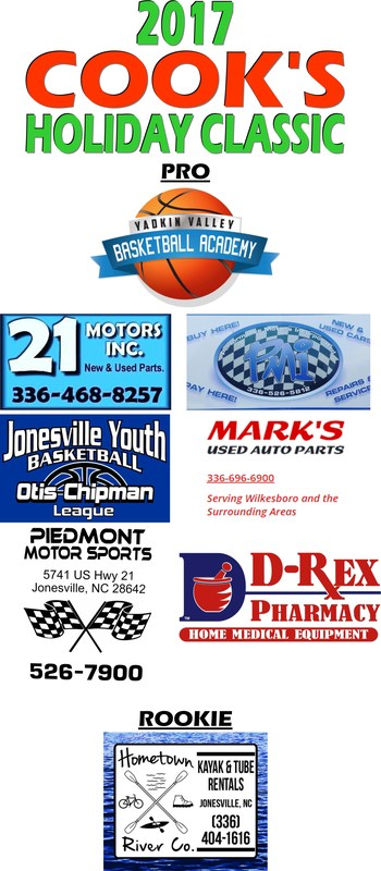 2017 Cook's Holiday Classic Basketball Tournament Thumbnail Image