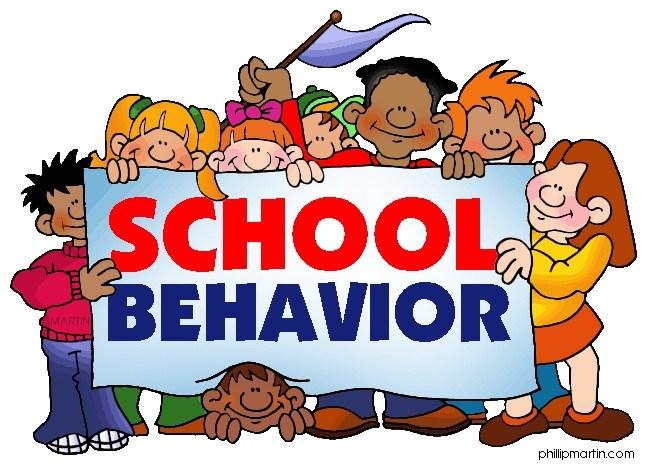 School Behavior Sign