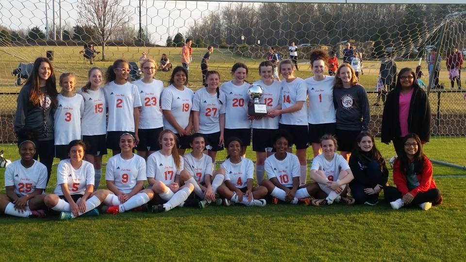 Cedar Ridge girls soccer team