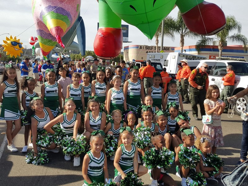 The Tubman Cheerleaders Marched in the Mother Goose Parade! Featured Photo