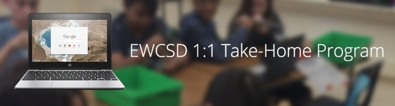 EWCSD 1:1 Take-Home Program logo