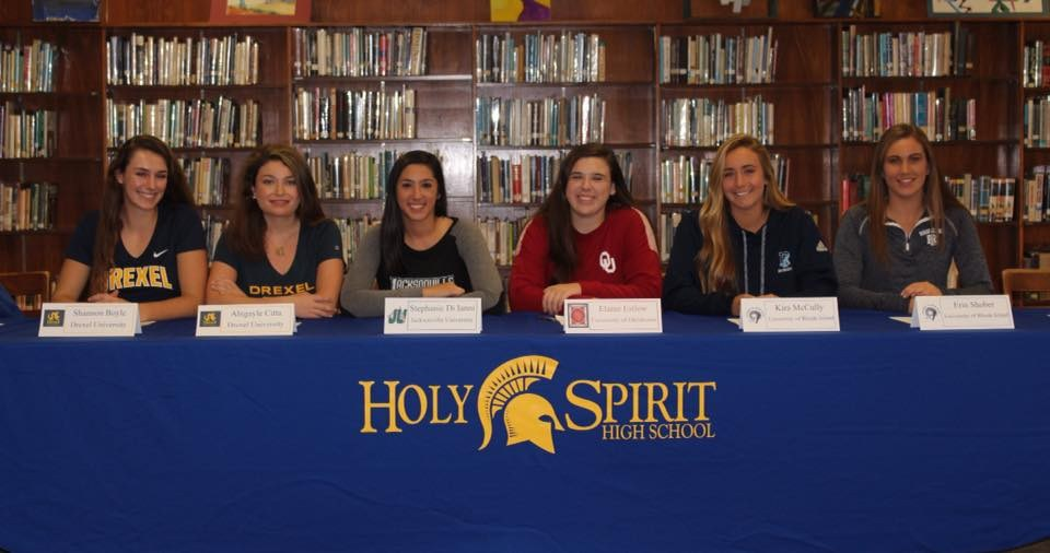 National Letter Of Intent Signing Day  Girls Crew  Holy Spirit