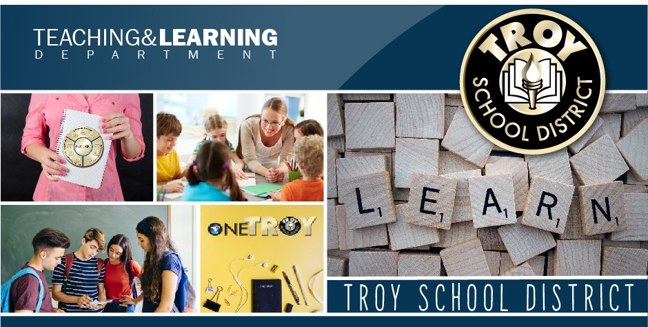 Teaching and Learning Banner.  This is a page design element.