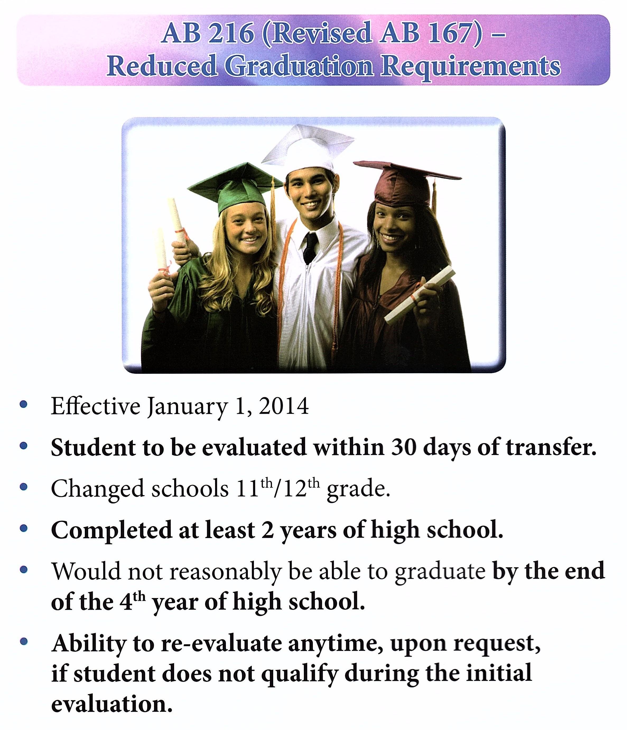 AB 167/216 Fact Sheet Manual