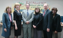 Superintendent Conklin and Board of Trustees edit.JPG