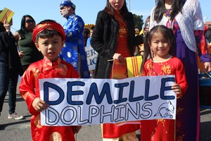 Demille Students