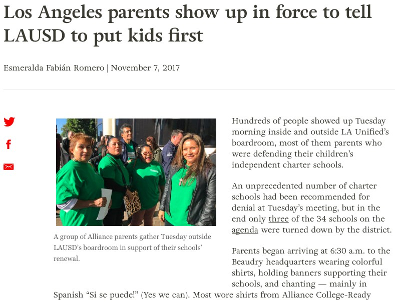 Los Angeles parents show up in force to tell LAUSD to put kids first Thumbnail Image