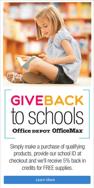 Shop at Office Depot and Park can benefit! Thumbnail Image