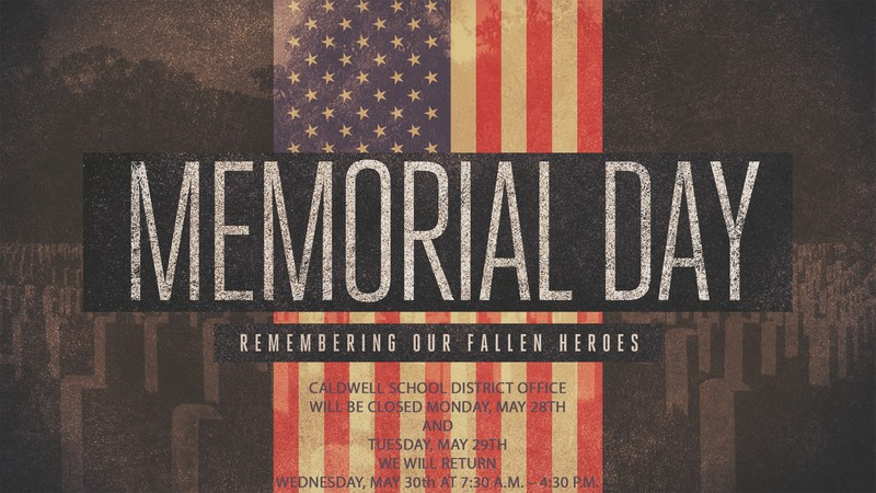 Memorial Day Closure Thumbnail Image