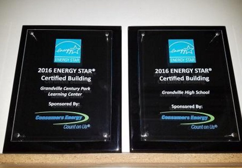 Energy Star plaque award