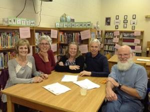 Volunteer luncheon group photo.