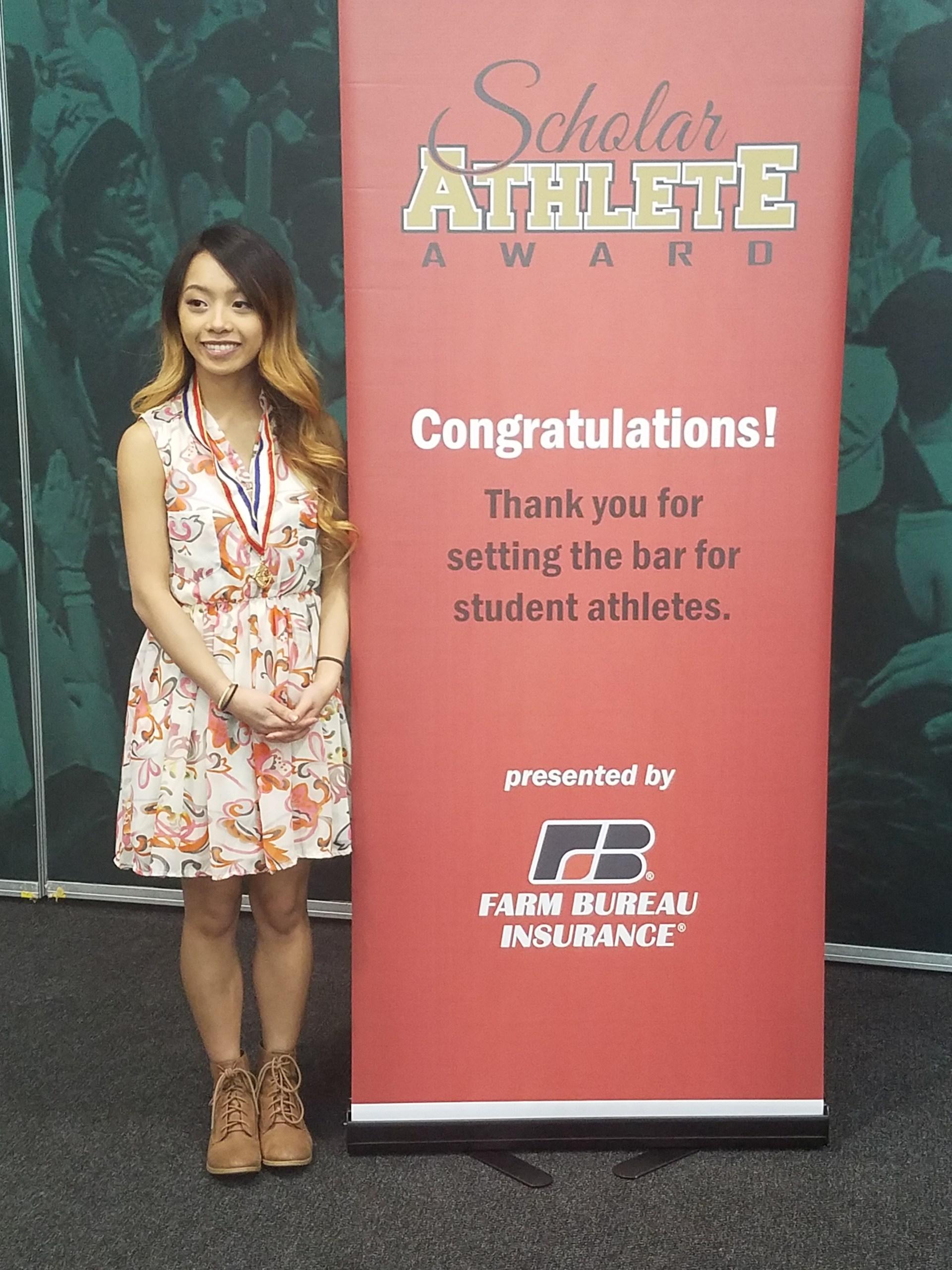 Kim Ahn Nguyen - MHSAA Scholar Athlete