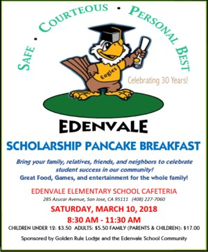 Adopt a College Pancake Breakfast