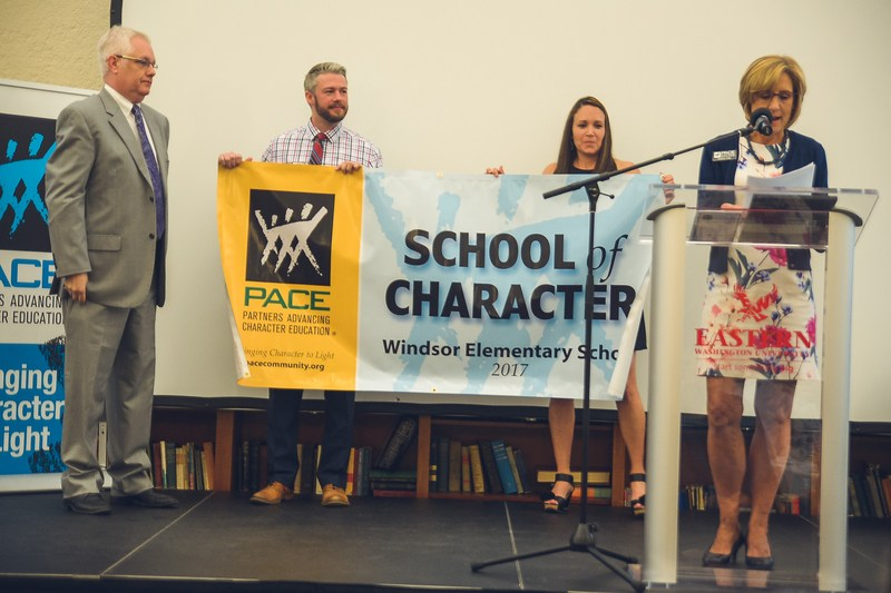 WINDSOR ELEMENTARY RECOGNIZED WITH THE PACE SCHOOL OF CHARACTER AWARD Thumbnail Image