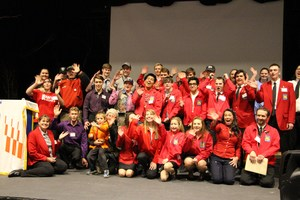 Image of SkillsUSA Team at recent competition