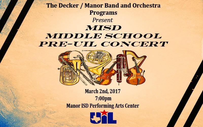 MISD Middle School Programs Concert Thumbnail Image