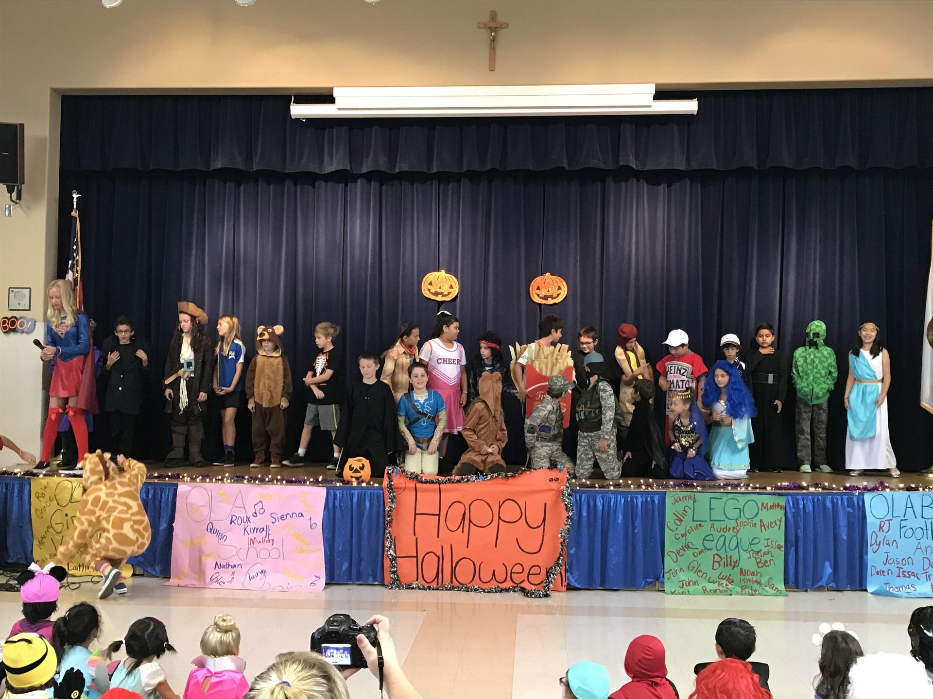 4th Grade Halloween