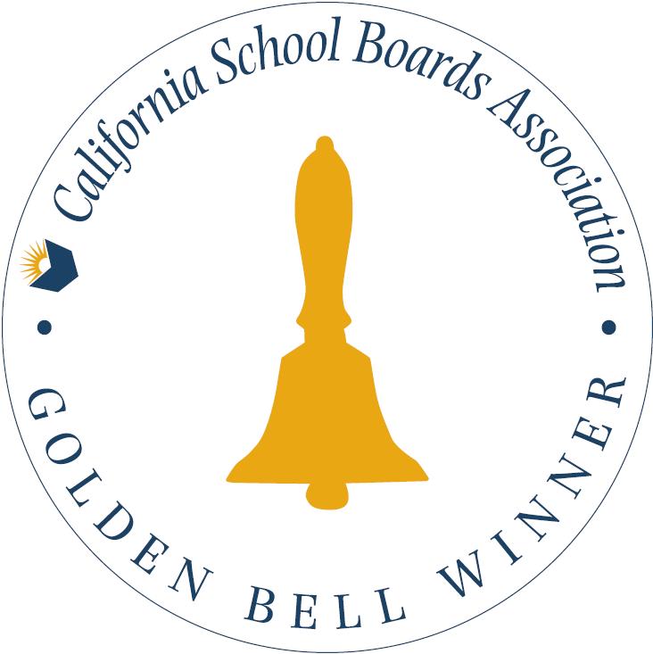 California School Boards Association Golden Bell Award logo