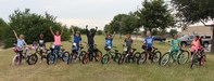 Ten elementary students won new bikes in the 19th annual Lockheed Martin Bike Giveaway.