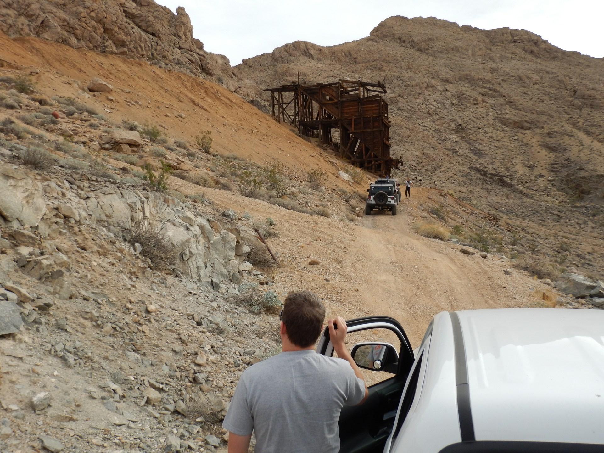 War Eagle Mine, Tecopa, CA
