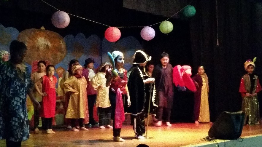 After school musical - Aladdin.
