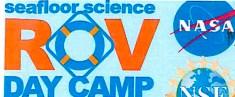 ROV Day Camp Logo