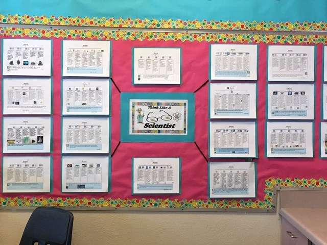 Students use the GATE icons to become critical thinkers.