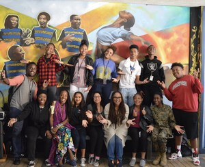 Film Job Shadow students celebrating a successful experience with Ava Duvernay