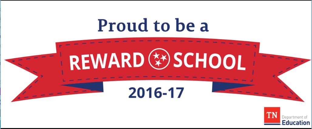 proud to be a reward school