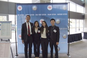 FBLA students at the state competition