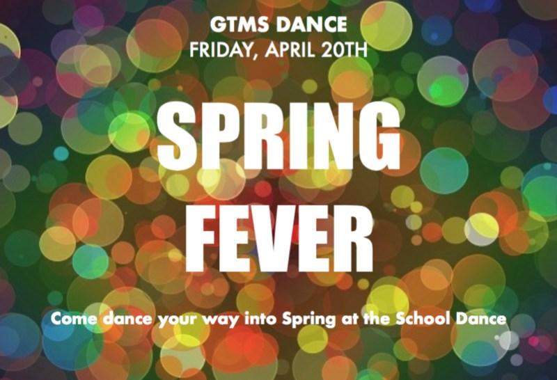 Spring Dance Friday, April 20