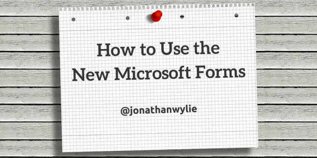 How to Microsoft Forms