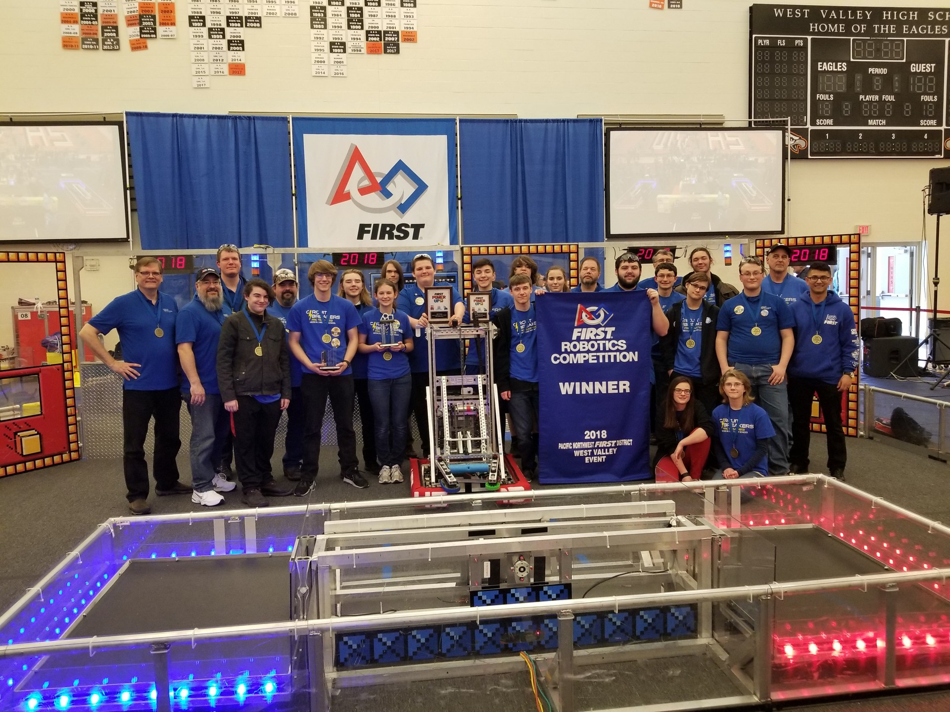 4513 Winner Week 4 FRC Event