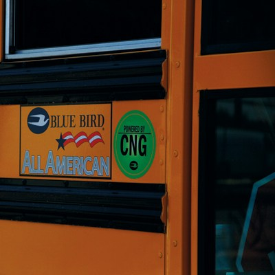 EUSD Blue Bird All American Buses Powered by CNG