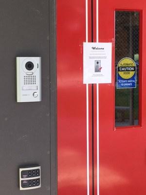 New front door security