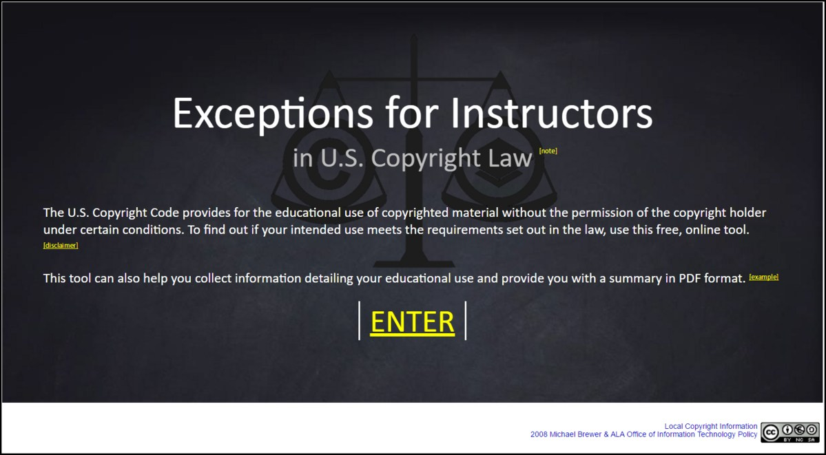 Exceptions for Instructors
