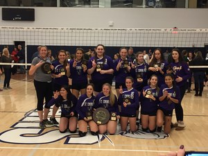 Volleyball captures second straight title