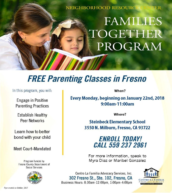 Families Together Flier