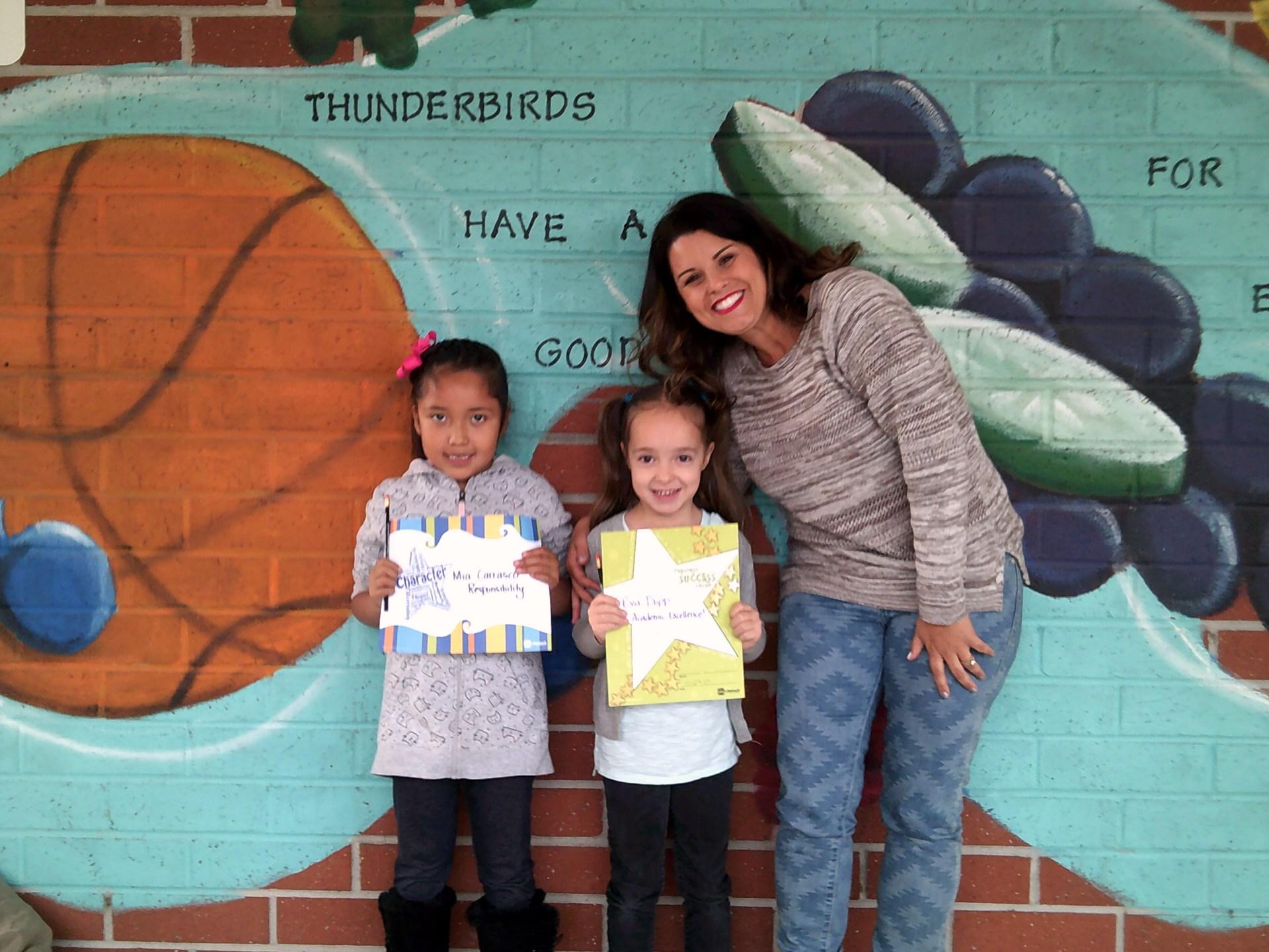 Mrs. Weber's November Honorees