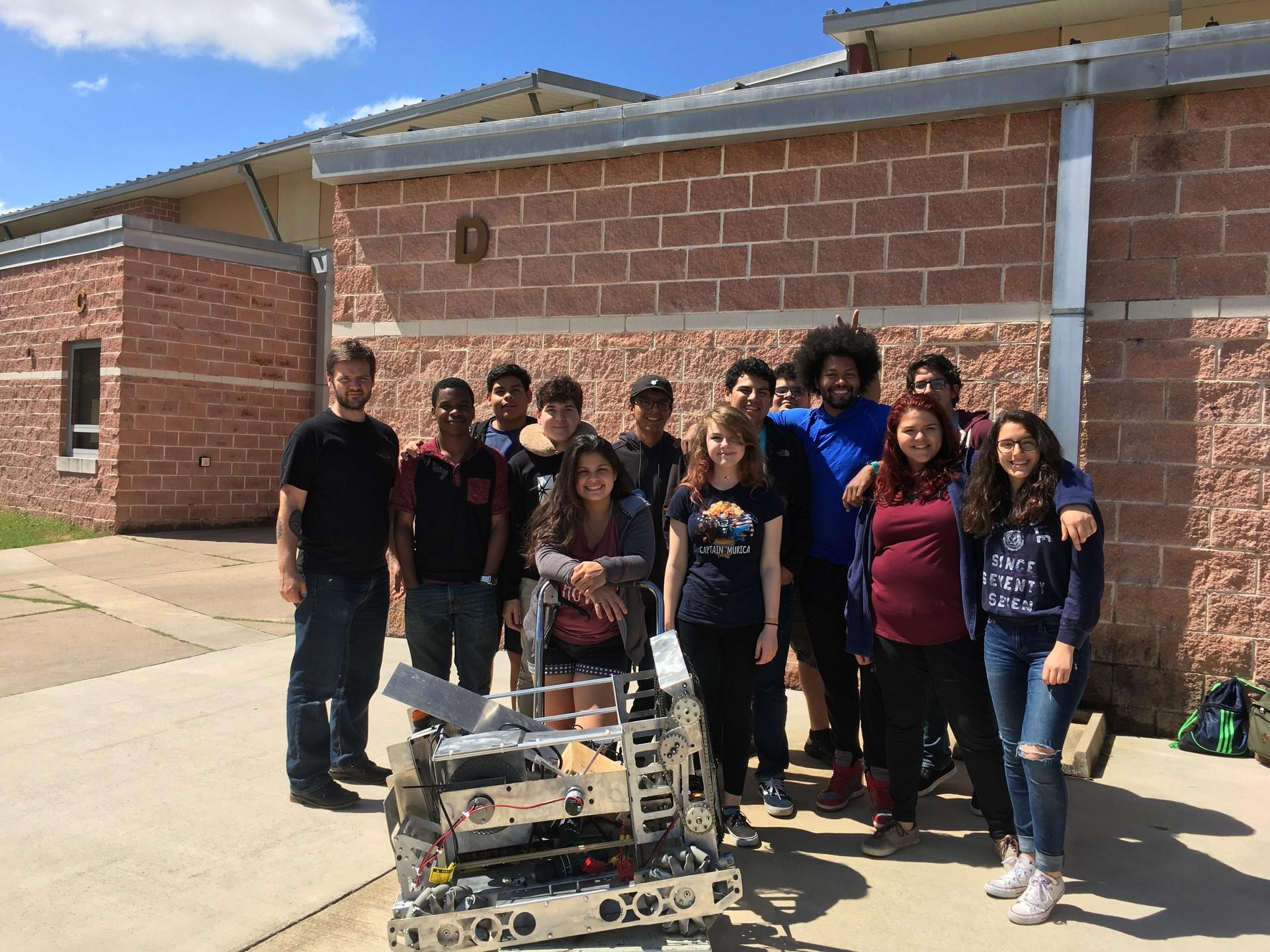Home Stem Robotics Club Akins High School
