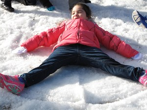 snow day at bryan elementary