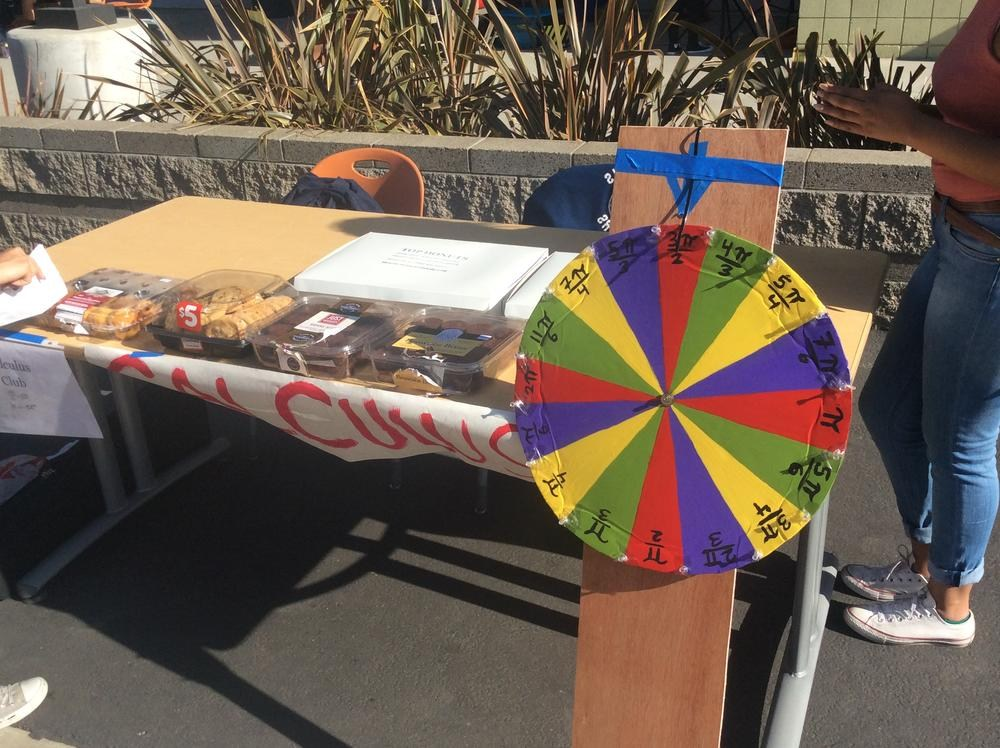 Wheel of Pi at STEAM Expo - Valley Academy of Arts and Sciences