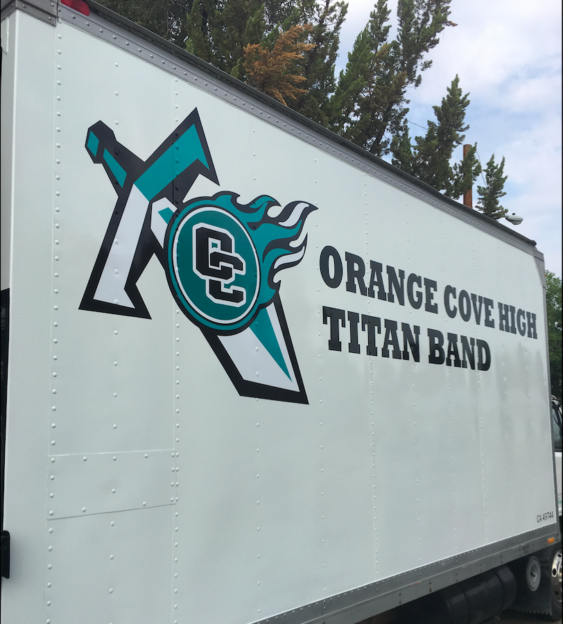 Orange Cove Titan Band