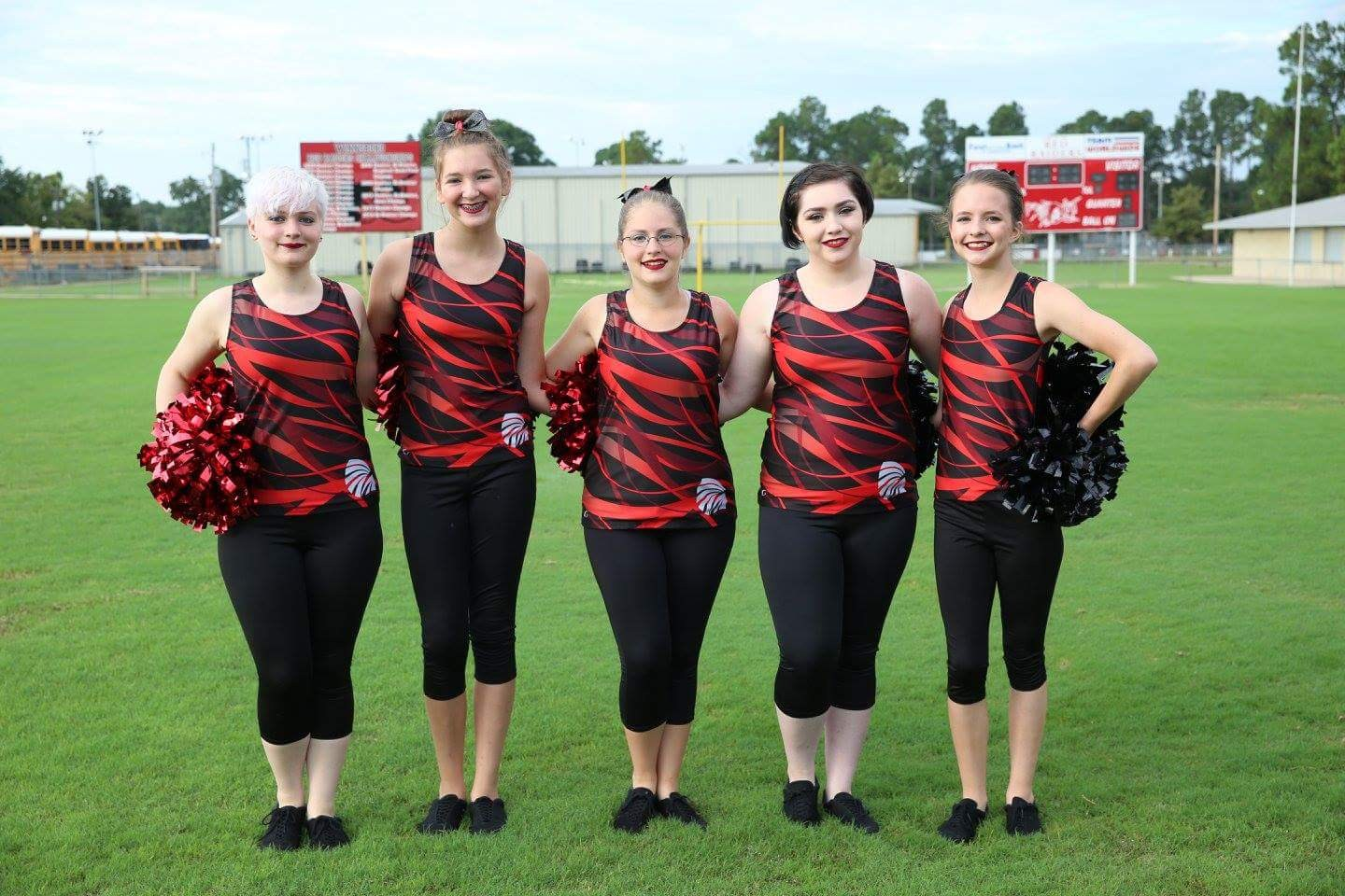 2017-2018 Raiderette Officers